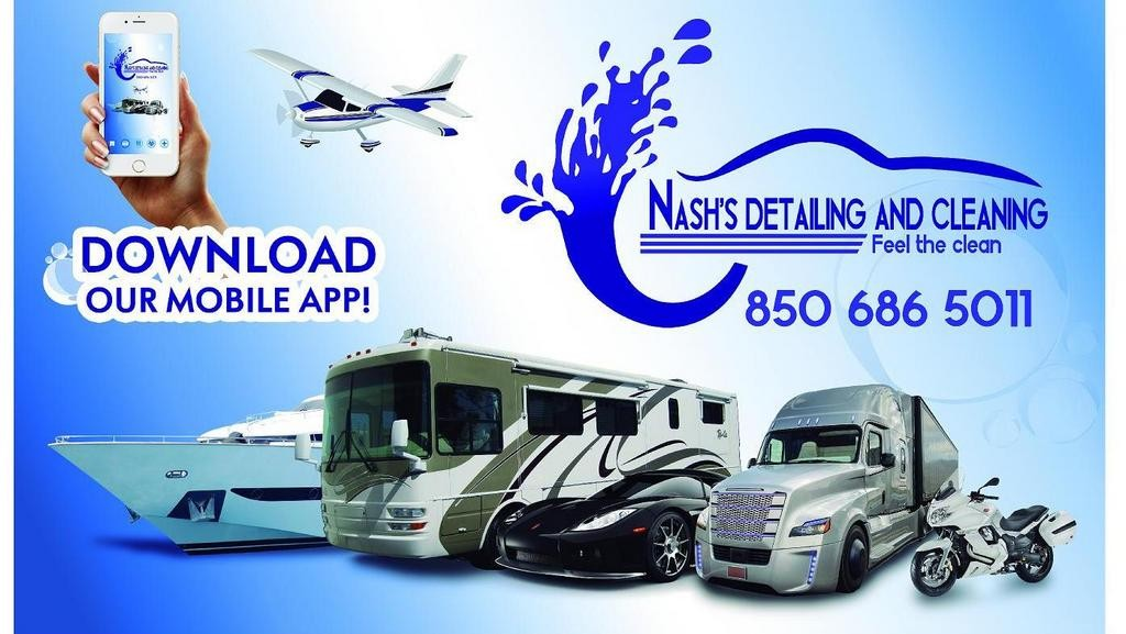 At Nash's Detailing and Cleaning, We Provide